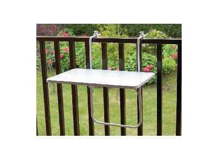 Alco Balkonhängetisch 60x40cm weiß bei handwerker-versand.de günstig kaufen