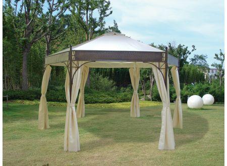 frg pavillon lagos 6 eckig kaufen. Black Bedroom Furniture Sets. Home Design Ideas