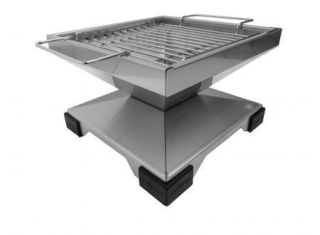 Thüros Tischgrill T1 Grillfläche 30x30 cm Edelstahl bei handwerker-versand.de günstig kaufen