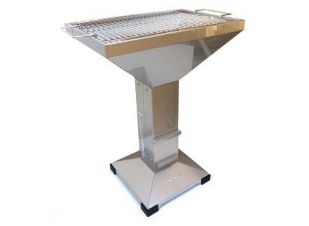 Thüros Kaminzuggrill T4 Grillfläche 40x60 cm, Edelstahl bei handwerker-versand.de günstig kaufen