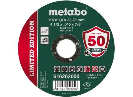 Metabo Trennscheiben Inox 115 x 1,0 x 22,23 mm 10er Pack bei handwerker-versand.de günstig kaufen