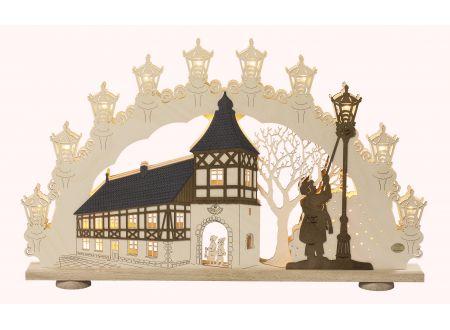 3D-Lichterbogen Motiv Altstadtromantik bei handwerker-versand.de günstig kaufen