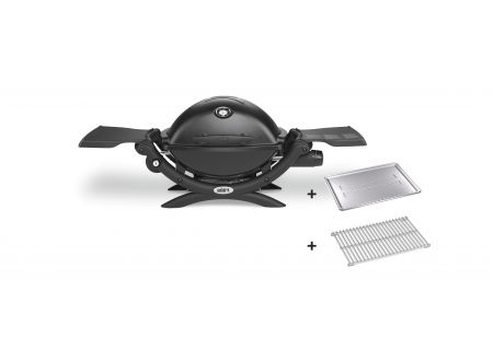Weber Q 1200 mit Hitzeschild und Bratenrost bei handwerker-versand.de günstig kaufen