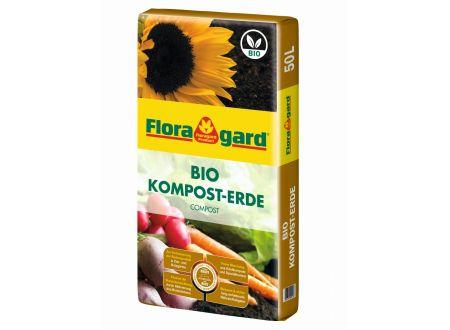 Floragard BIO Kompost-Erde 50L bei handwerker-versand.de günstig kaufen