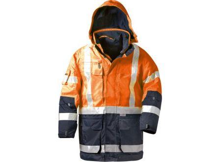 E/D/E Logistik-Center Warnschutzparka Wallace 4in1 orange bei handwerker-versand.de günstig kaufen