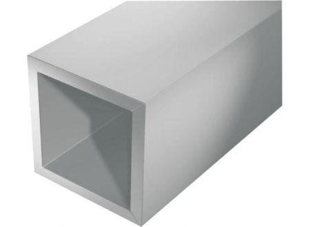 Gah Vierkantrohr silberfarbig Aluminium bei handwerker-versand.de günstig kaufen