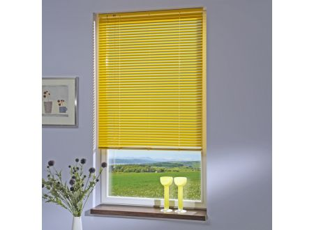 Liedeco Jalousie aus Aluminium Sonnen-Gelb Jalousie für Fenster und Tür bei handwerker-versand.de günstig kaufen
