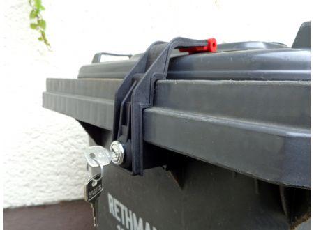 C.T.S. Mülltonnenverschluss für Tonnen von 60 bis 360l bei handwerker-versand.de günstig kaufen