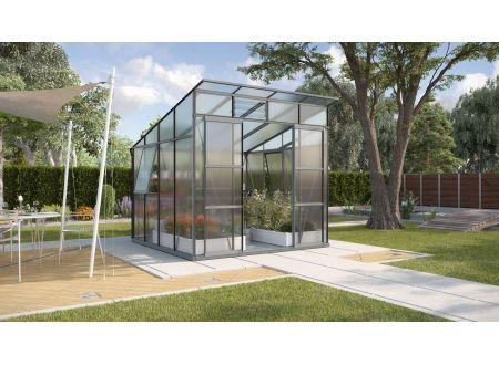 Gewächshaus Freya 7,6m² HKP anthrazit bei handwerker-versand.de günstig kaufen