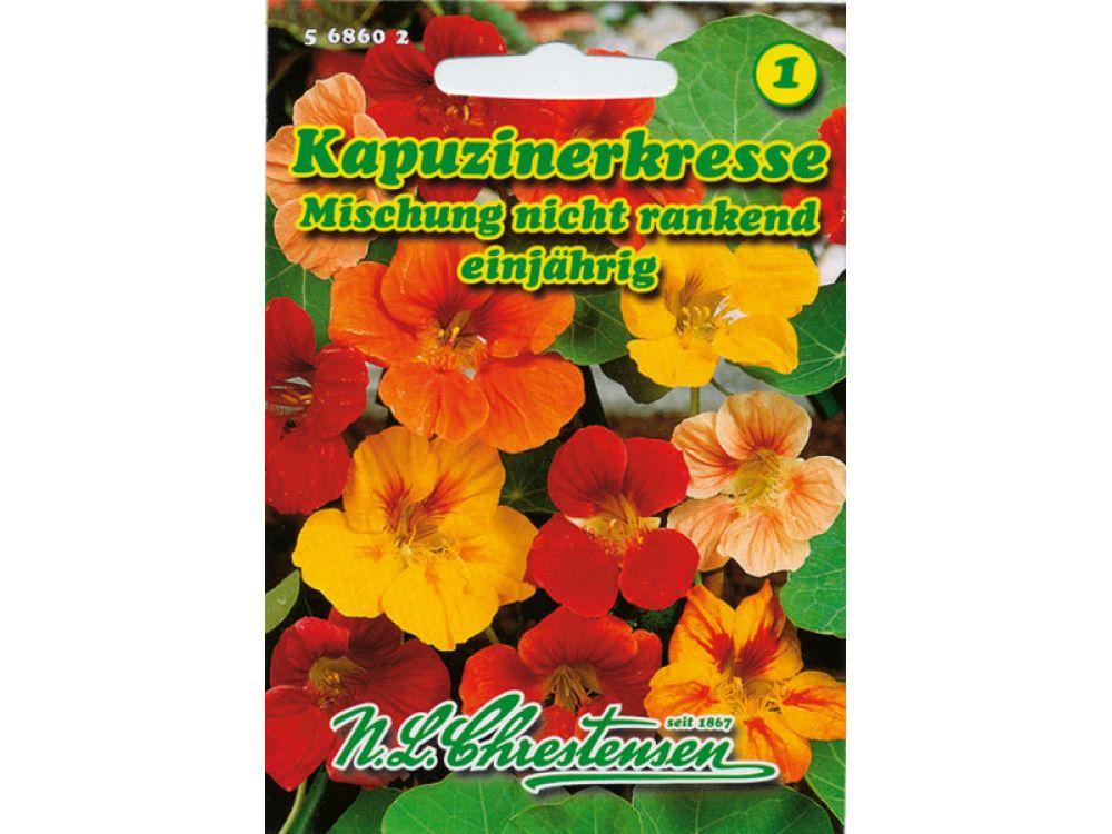 Tropaeolum majus - Kapuzinerkresse - Mischung