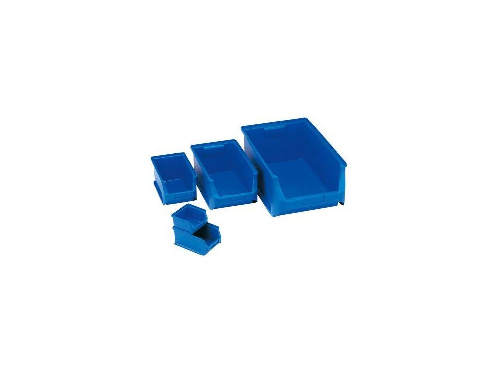 Sichtbox grau Größe 4, 355x205x150mm 1 Stück