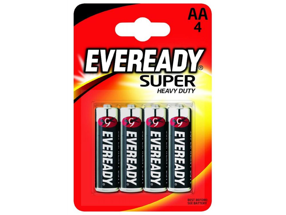 Batterie Eveready Super Heavy Duty 1,5V