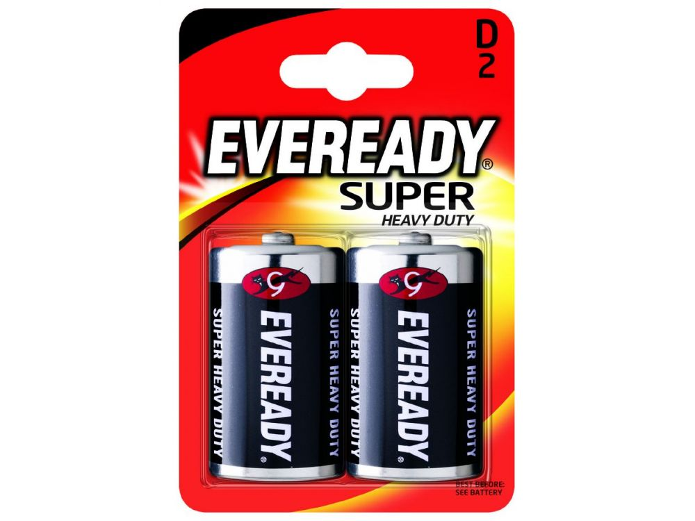 Batterie Mono Eveready Super Heavy Duty 1,5V