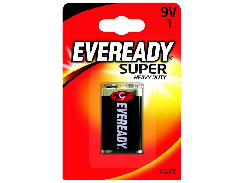 Batterie E-Block 9V Eveready Super Heavy Duty