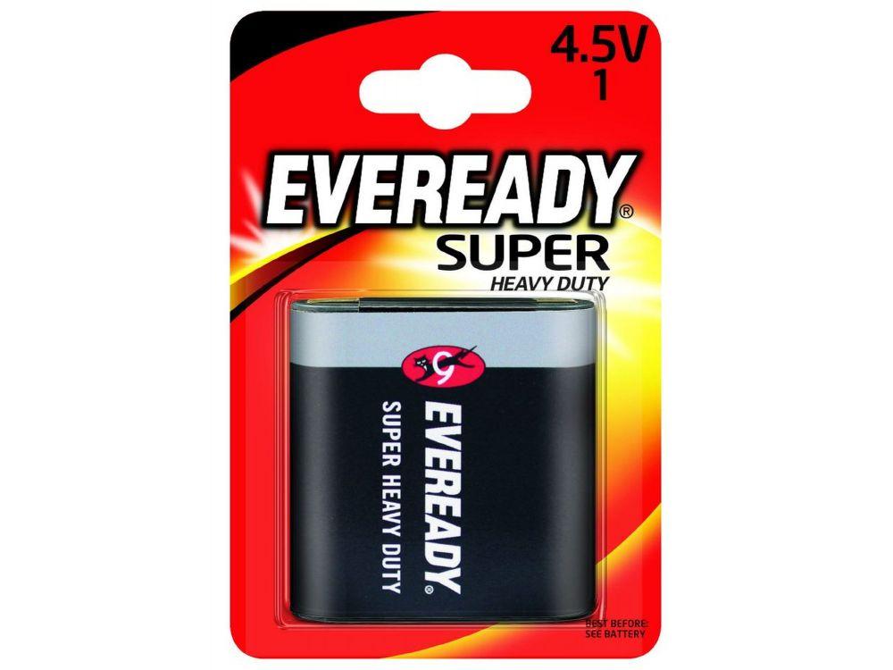 Batterie Normal 4,5V Eveready Super Heavy Duty