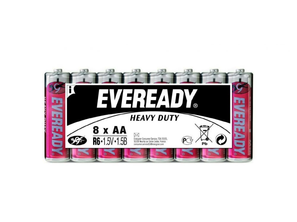 Batterie Mignon Eveready Heavy Duty 1,5V