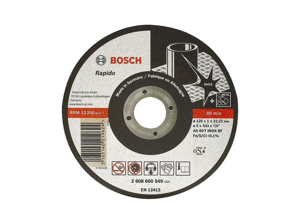 Bosch Trennscheibe 180x2mm Fur Stahl Kaufen