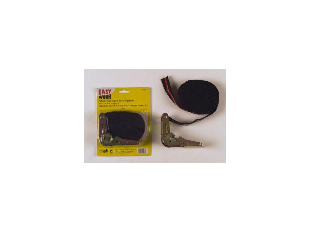 easy work ratschenspanngurt 5 m l nge 25mm breit kaufen. Black Bedroom Furniture Sets. Home Design Ideas