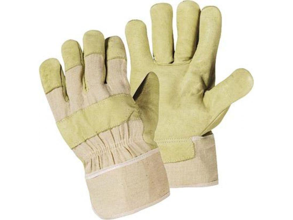 88 PAWA Arbeitshandschuhe Lederhandschuhe Größe 10