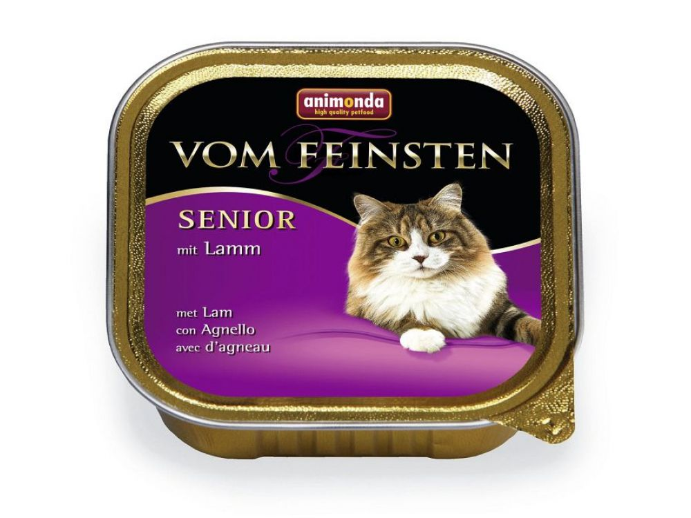 Animonda Cat vom Feinsten Senior mit Lamm 100 g...