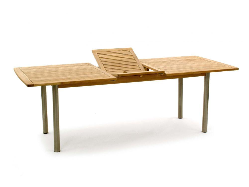 landmann teak tisch 230 180x100 somerset fsc mix kaufen. Black Bedroom Furniture Sets. Home Design Ideas