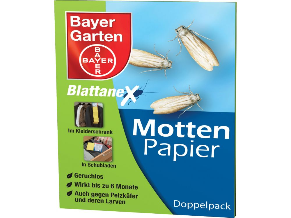 Bayer Mottenpapier 2 Stück