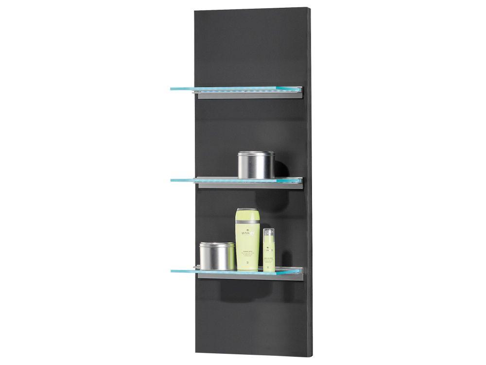 fackelmann kara seitenpaneel anthrazit 108x60x32 kaufen. Black Bedroom Furniture Sets. Home Design Ideas