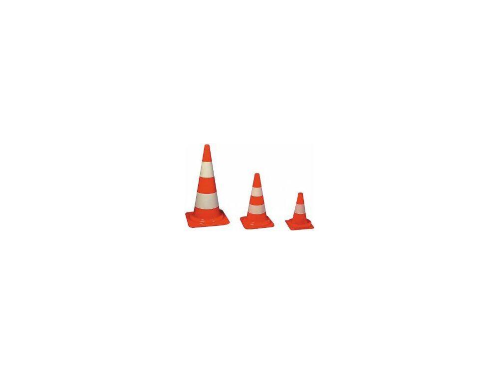 Verkehrsleitkegel PVC orange, 750 mm