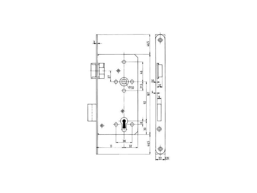 ede haust r schloss nr 154 1 2falz pz k ntig mit wechsel. Black Bedroom Furniture Sets. Home Design Ideas
