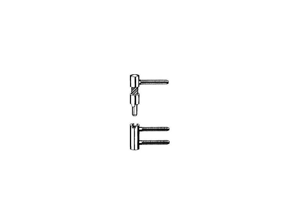 Simonswerk 2 Baka-Bänder links V 5450 vernickelt kaufen