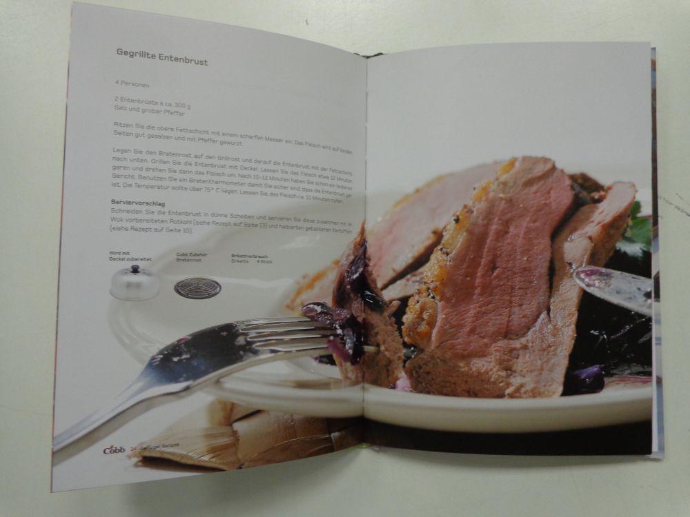 Cobb Kochbuch ´´Grillen wie kein anderer´´