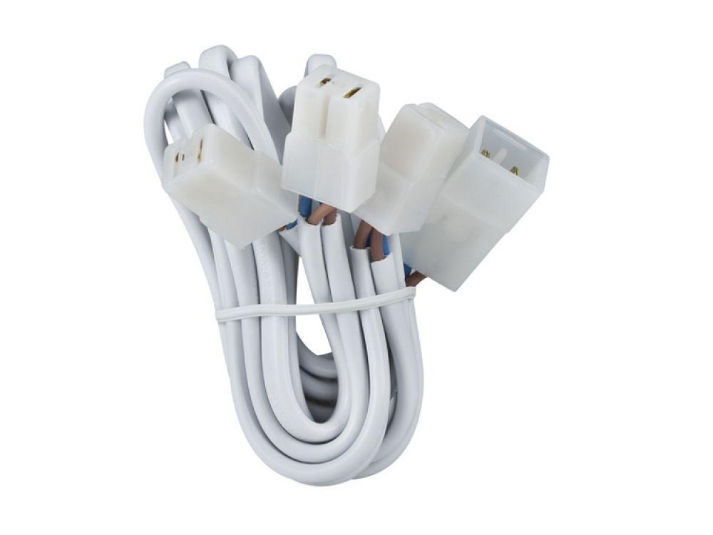 paulmann kabels tze mit steckverbinder f r 3 leuchten kaufen. Black Bedroom Furniture Sets. Home Design Ideas