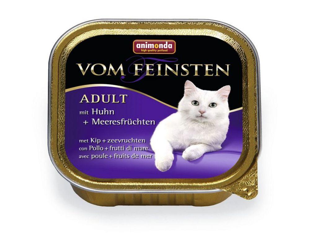 Animonda Cat vom Feinsten Adult mit Huhn und Me...