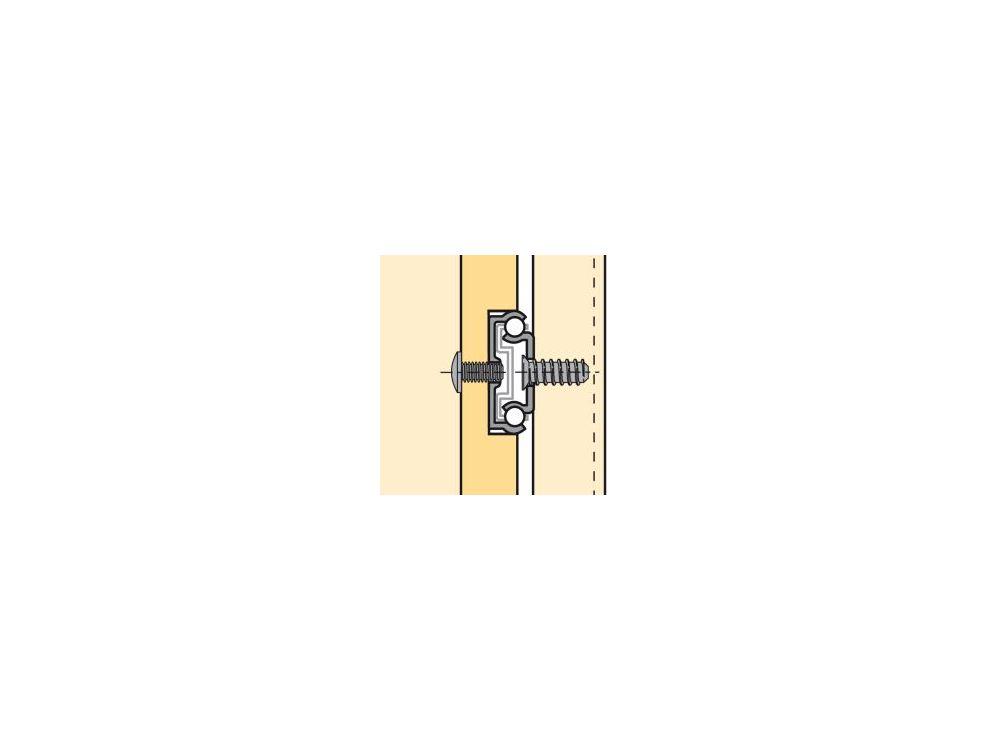 Kugelauszug für 27mm Nut Schubkastenlänge 230-350 mm