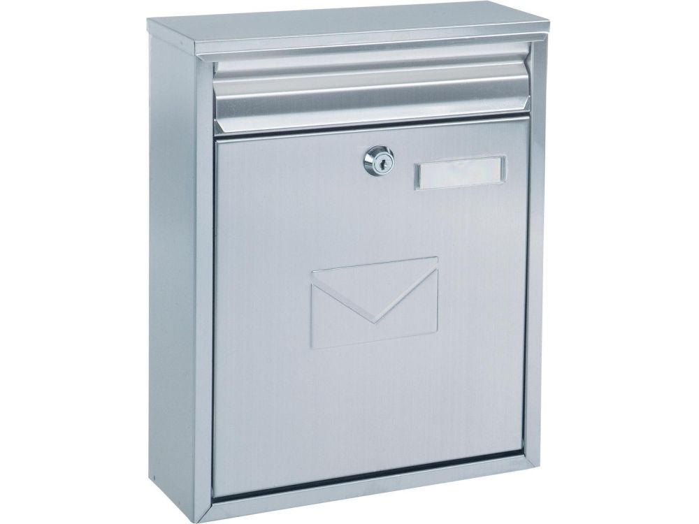 Rottner Security Briefkasten Como Edelstahl - broschei