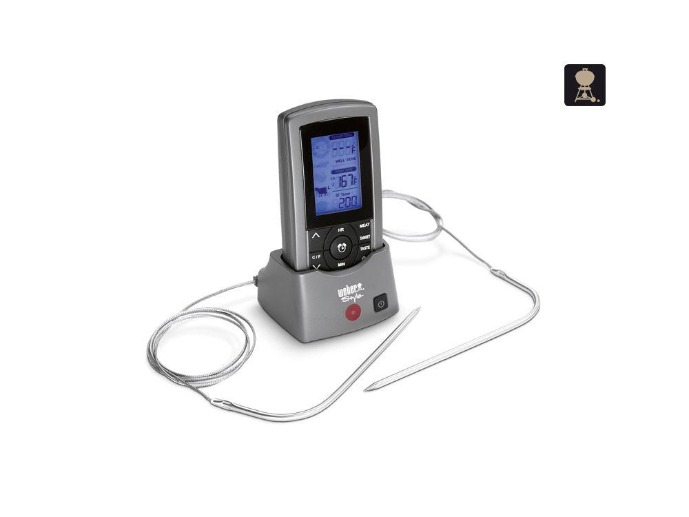 Weber Elektrogrill Mit Thermometer : Weber digital thermometer messfühler kaufen