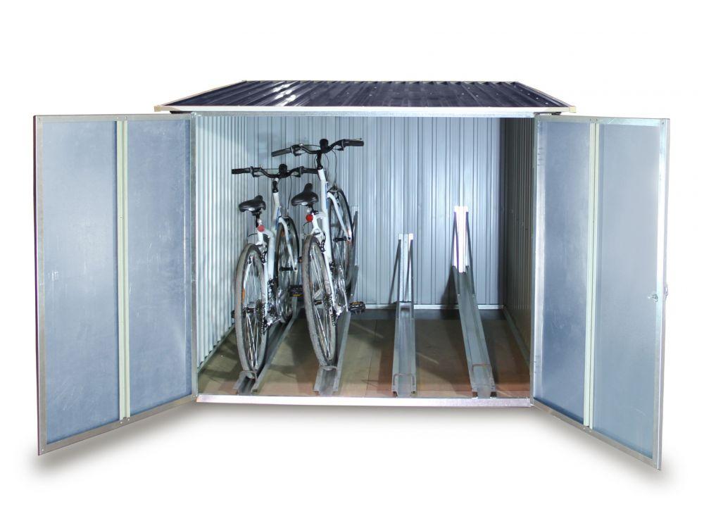 tepro garten gmbh fahrradbox tepro f r 4 raeder kaufen. Black Bedroom Furniture Sets. Home Design Ideas
