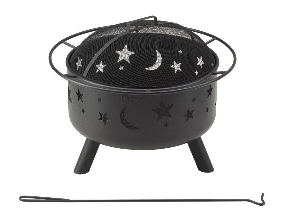 landmann feuerkorb stars moon kaufen. Black Bedroom Furniture Sets. Home Design Ideas