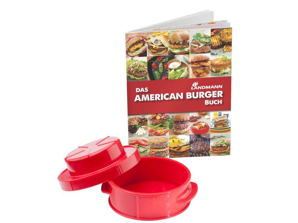 American Burger Set Mit Rezeptbuch
