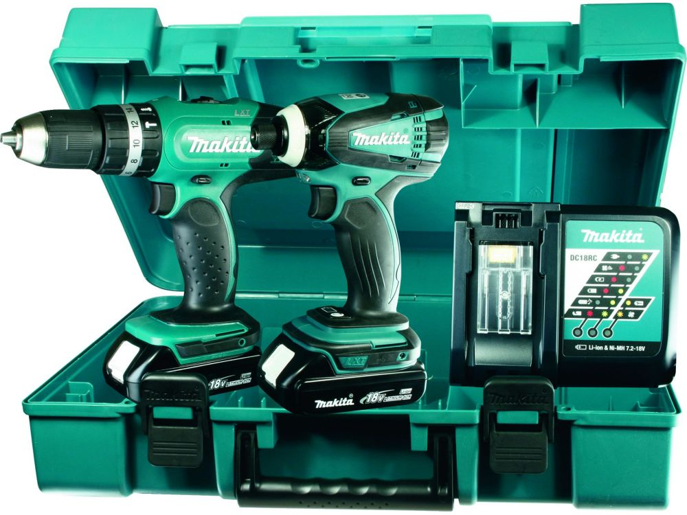 makita akku set 18 v dhp453 dtd146 dlx2020y kaufen. Black Bedroom Furniture Sets. Home Design Ideas