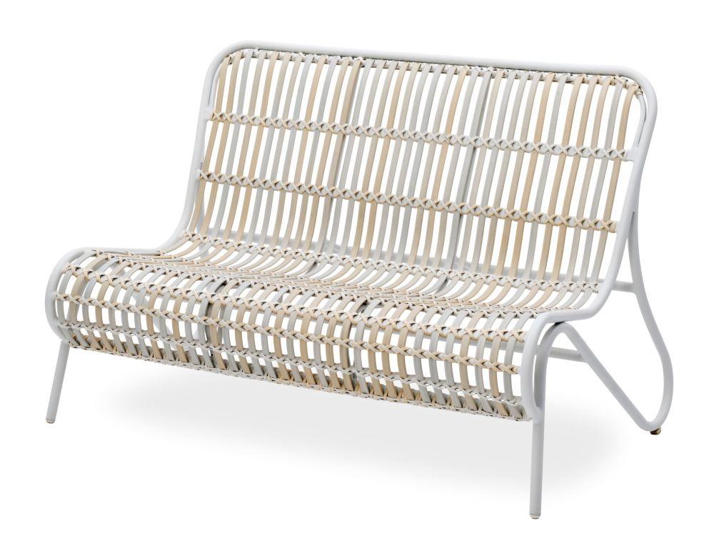 Landmann 2er sofa inkl auflage und zierkissen kaufen for Couch auflage