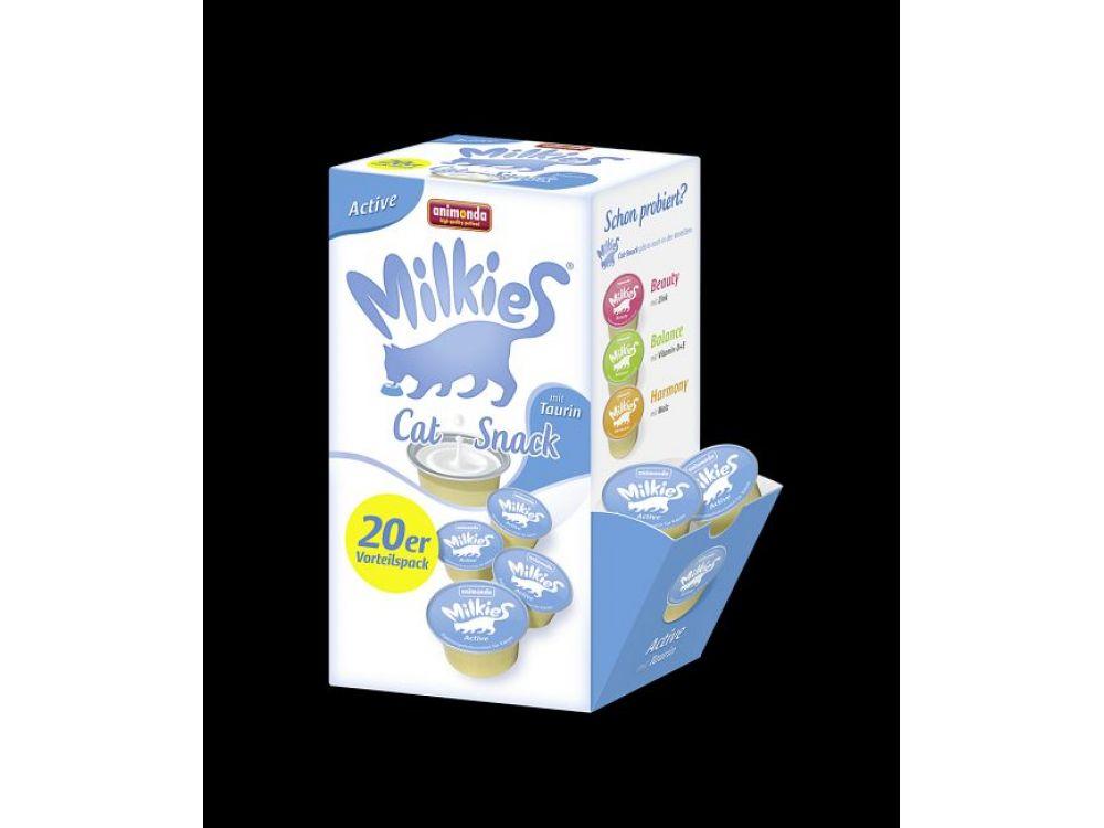Animonda Cat Snack Milkies Aktive 20 x 15 g Cup