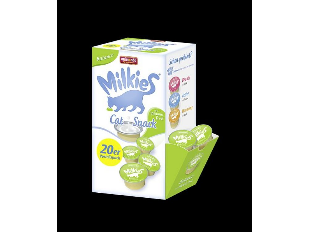Animonda Cat Snack Milkies Balance 20 x 15 g Cup