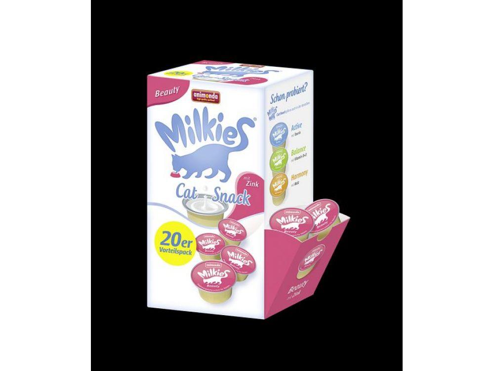 Animonda Cat Snack Milkies Beauty 20 x 15 g Cup