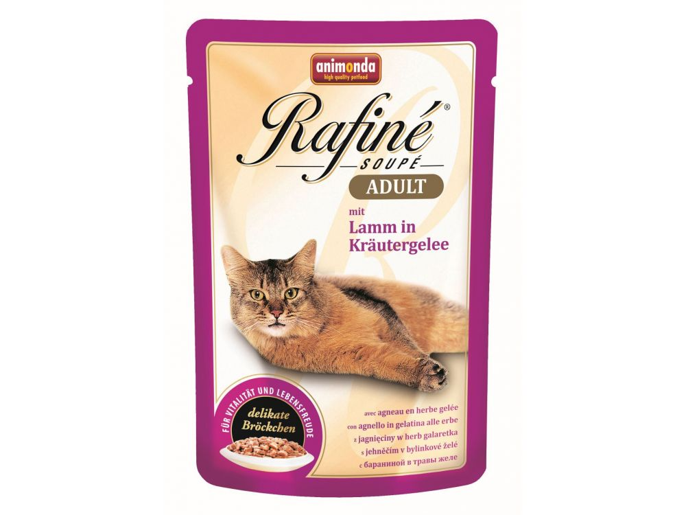 Animonda Cat Rafiné Soupé Adult Pouch mit Lamm ...