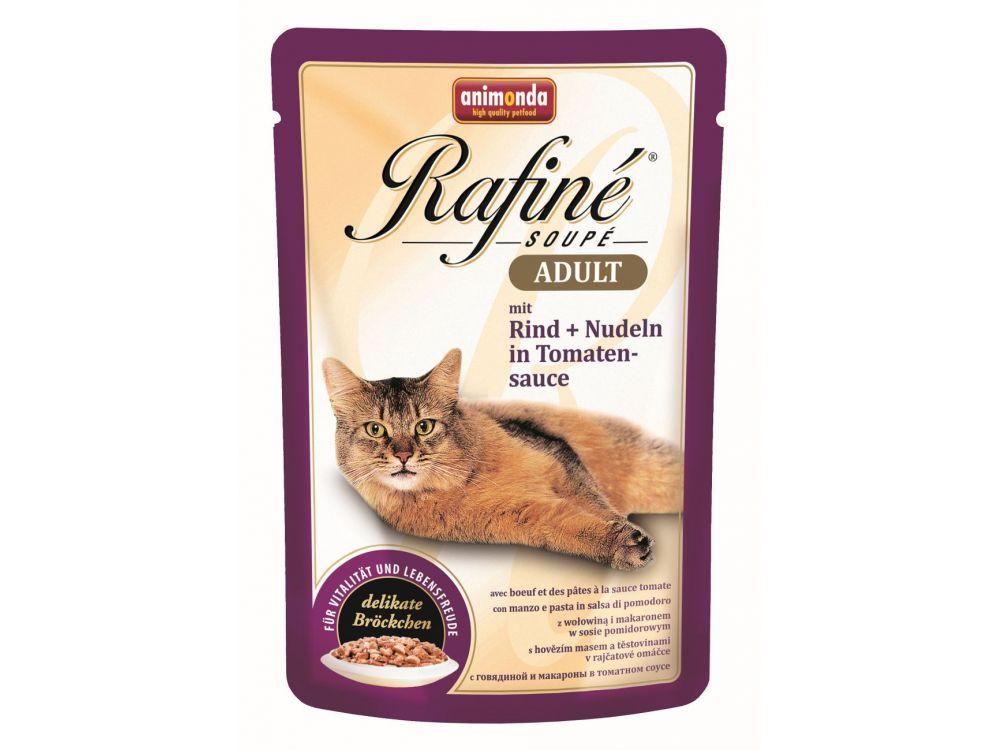 Animonda Cat Rafiné Soupé Adult Pouch mit Rind ...