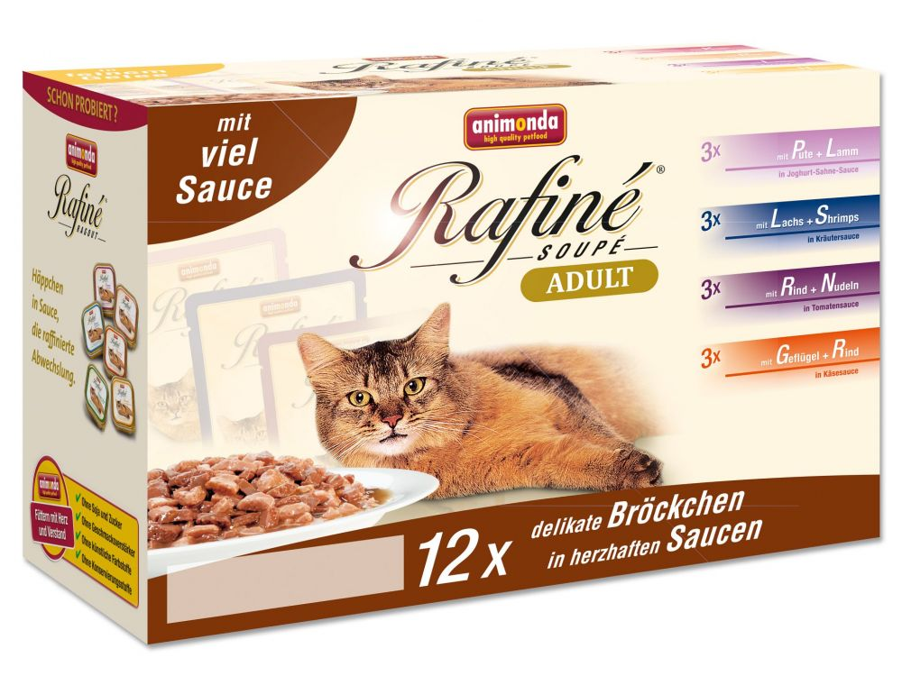 Animonda Cat Rafiné Soupé Multipack 3 Adult 12e...