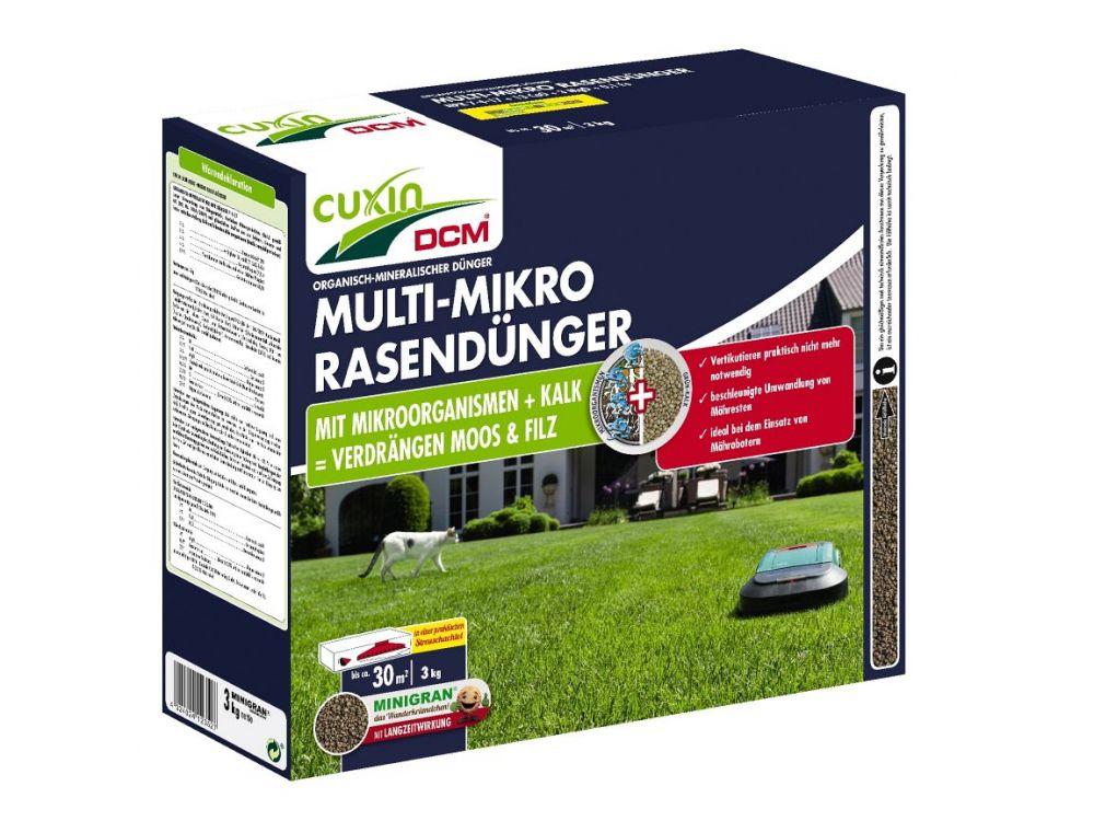 Cuxin Multi Mikro Rasendünger Minigran 3 Kg Kaufen