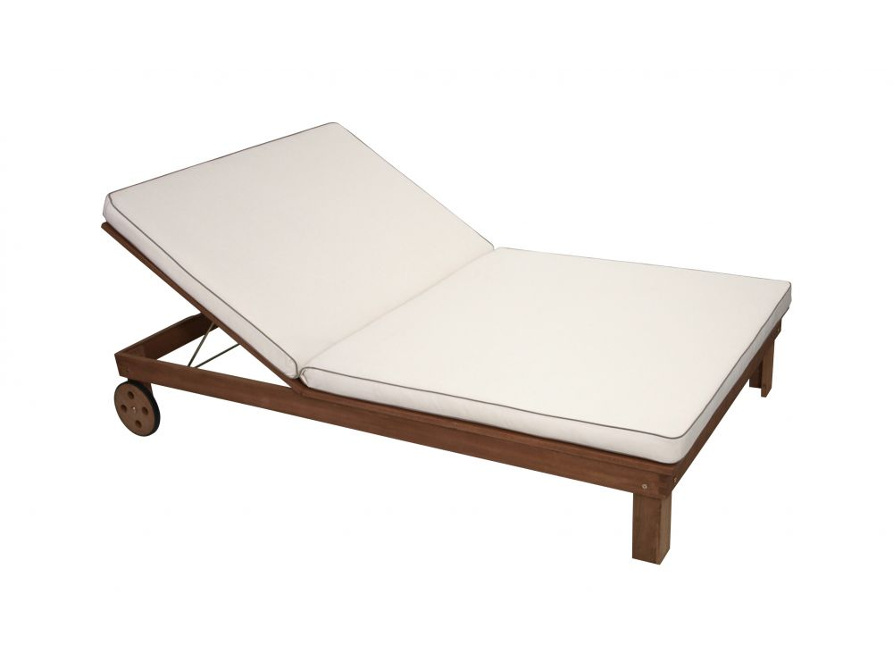 frg auflage doppel liege cremefarben kaufen. Black Bedroom Furniture Sets. Home Design Ideas