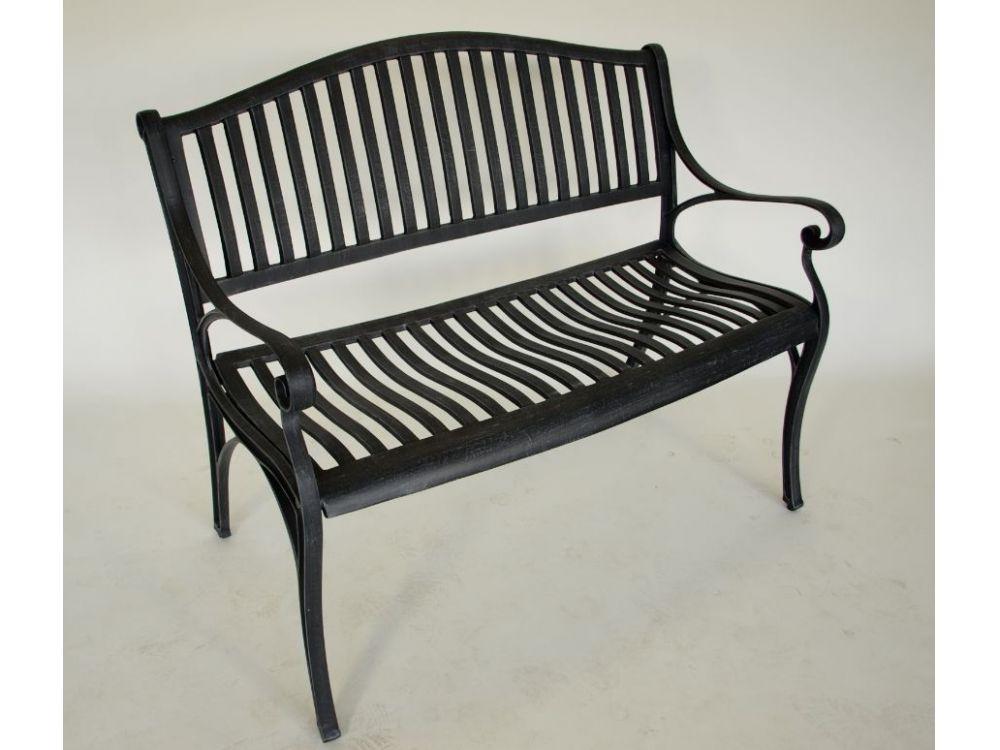 frg gartenbank napoli 2 sitzer grau antik kaufen. Black Bedroom Furniture Sets. Home Design Ideas